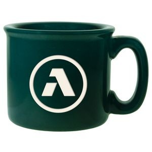 Dark Green Campfire Mug (15 Oz.)