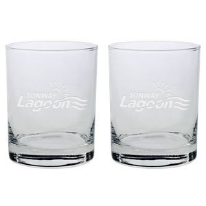 Set of Two Skyline Classic Double Rocks Glass (14 Oz.)