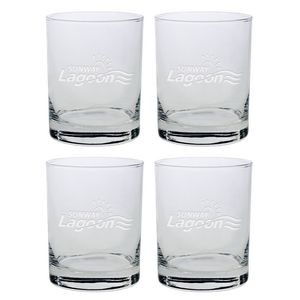 Set of Four Skyline Classic Double Rocks Glass (14 Oz.)
