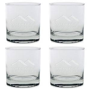 Set of Four Skyline Classic Rocks Glass (11 Oz.)