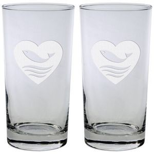 Set of Two Skyline Classic Beverage Glass (13 Oz.)