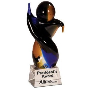 "Celebration Art Glass Award (7 5/8"")"