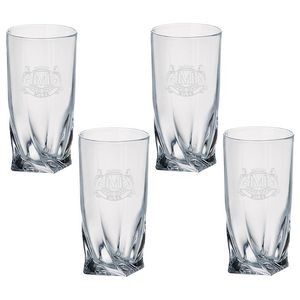 Set of Four Westgate Quadro Highball (12 Oz.)