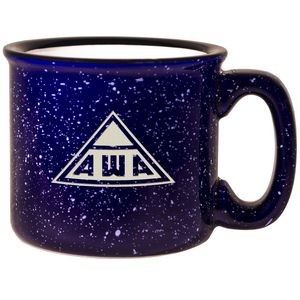 Campfire Mug - Cobalt Blue Out/White In (15 Oz.)