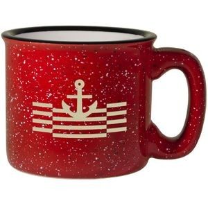 Campfire Mug - Red Out/White In (15 Oz.)