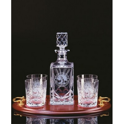 Windsor Spirit Set with Tray