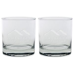 Set of Two Skyline Classic Rocks Glass (11 Oz.)